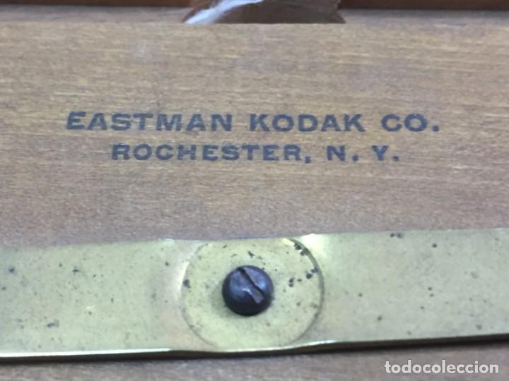 Cámara de fotos: Soporte de madera para negativo en placa de Eastman Kodak, para negativo 31/4 x 41/4 con cristal - Foto 4 - 201202687