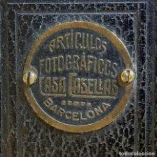 Cámara de fotos: ARTICULO FOTOGRAFICO CASA CASELLAS BARCELONA ESPAÑA. Lote 201302231