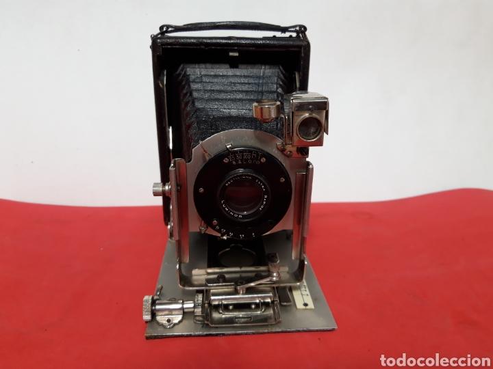 ANTIGUA CAMARA DE FOTOS DE PLACAS (Cámaras Fotográficas - Antiguas (hasta 1950))