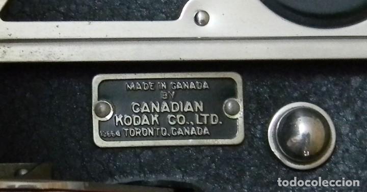 Cámara de fotos: KODAC NUM. 2C AUTOGRAPHIC KODAC JR. Vendida de 1916 a 1927 - Buen estado - Foto 6 - 202383748
