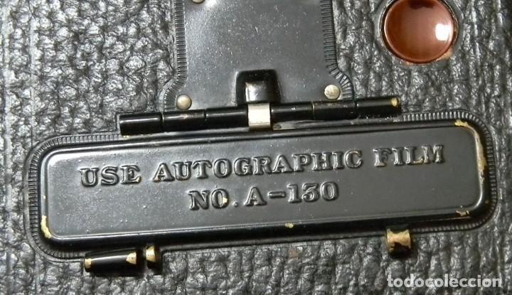 Cámara de fotos: KODAC NUM. 2C AUTOGRAPHIC KODAC JR. Vendida de 1916 a 1927 - Buen estado - Foto 9 - 202383748