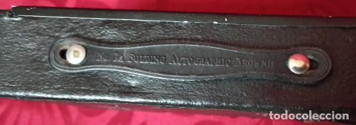 Cámara de fotos: KODAC BALL BEARING SHUTTER – Nº 3-A FOLOING AUTOGRAPHIC BROWNIE + Instrucciones - Foto 23 - 202383830