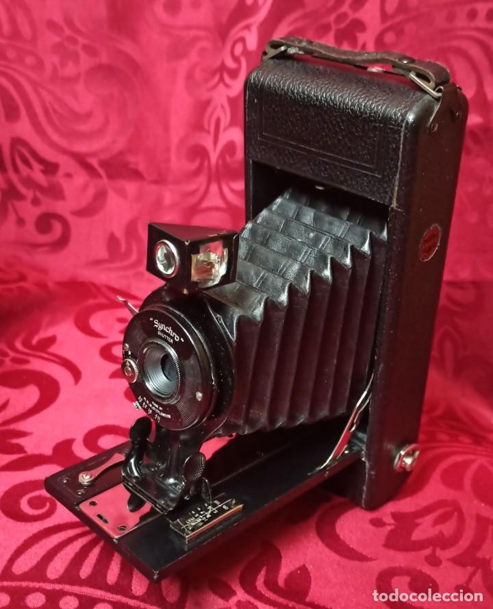 Cámara de fotos: SYNCHRO SHUTTER – ENSIGN – MADE IN ENGLAND BY THE HOUGHTON – GUTCHER LONDON - Foto 2 - 202383843