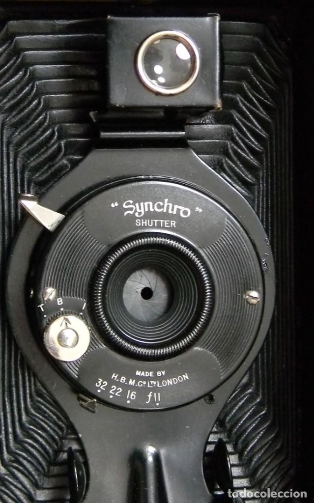 Cámara de fotos: SYNCHRO SHUTTER – ENSIGN – MADE IN ENGLAND BY THE HOUGHTON – GUTCHER LONDON - Foto 8 - 202383843