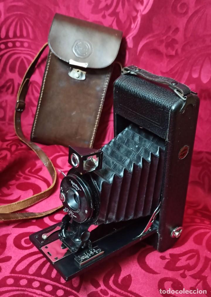 Cámara de fotos: SYNCHRO SHUTTER – ENSIGN – MADE IN ENGLAND BY THE HOUGHTON – GUTCHER LONDON - Foto 22 - 202383843