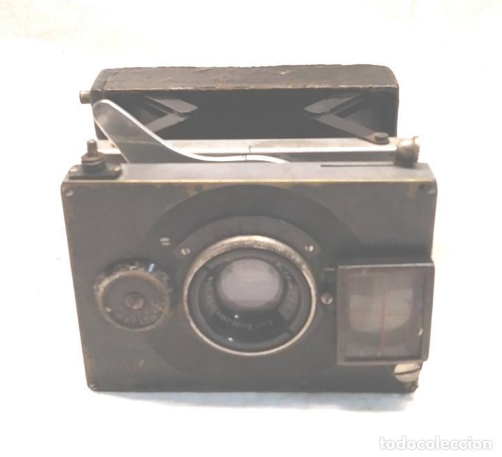 CAMARA ICA BEBE DRESDEN DE PLACAS ALEMANIA AÑOS 10, PRIMER MODELO (Cámaras Fotográficas - Antiguas (hasta 1950))