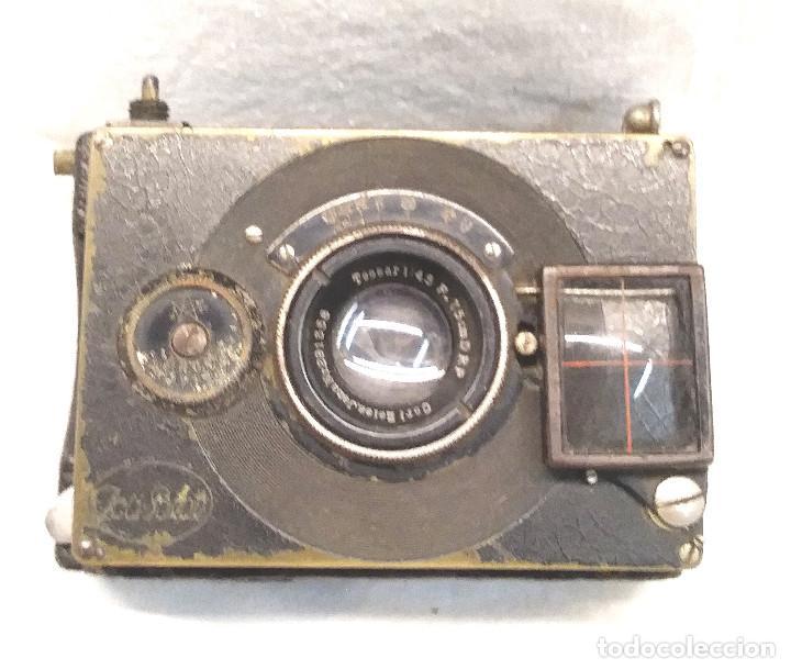 Cámara de fotos: Camara Ica Bebe Dresden de placas Alemania años 10, primer modelo - Foto 2 - 203103425