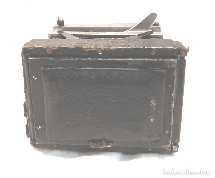 Cámara de fotos: Camara Ica Bebe Dresden de placas Alemania años 10, primer modelo - Foto 5 - 203103425