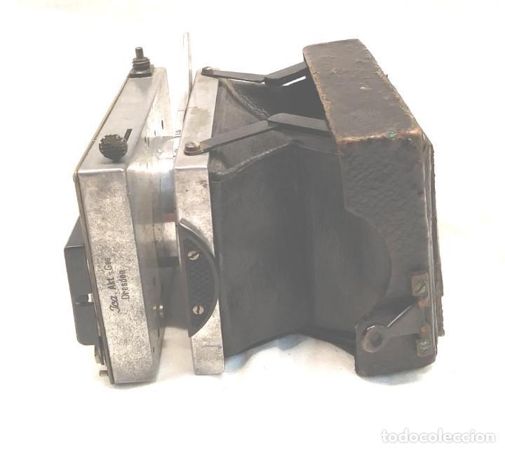 Cámara de fotos: Camara Ica Bebe Dresden de placas Alemania años 10, primer modelo - Foto 6 - 203103425