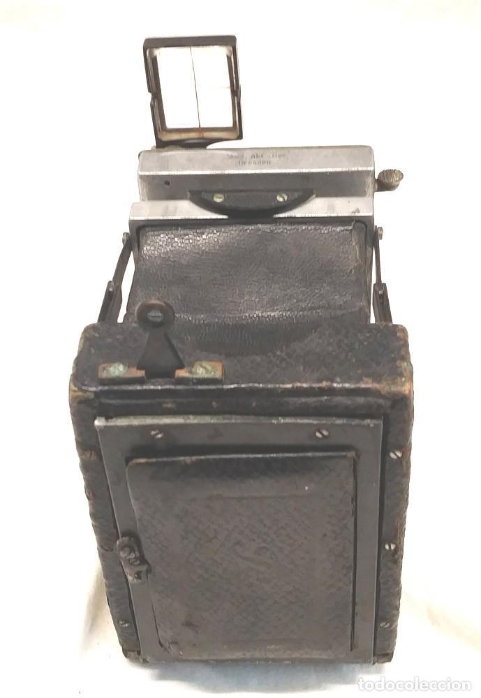 Cámara de fotos: Camara Ica Bebe Dresden de placas Alemania años 10, primer modelo - Foto 7 - 203103425