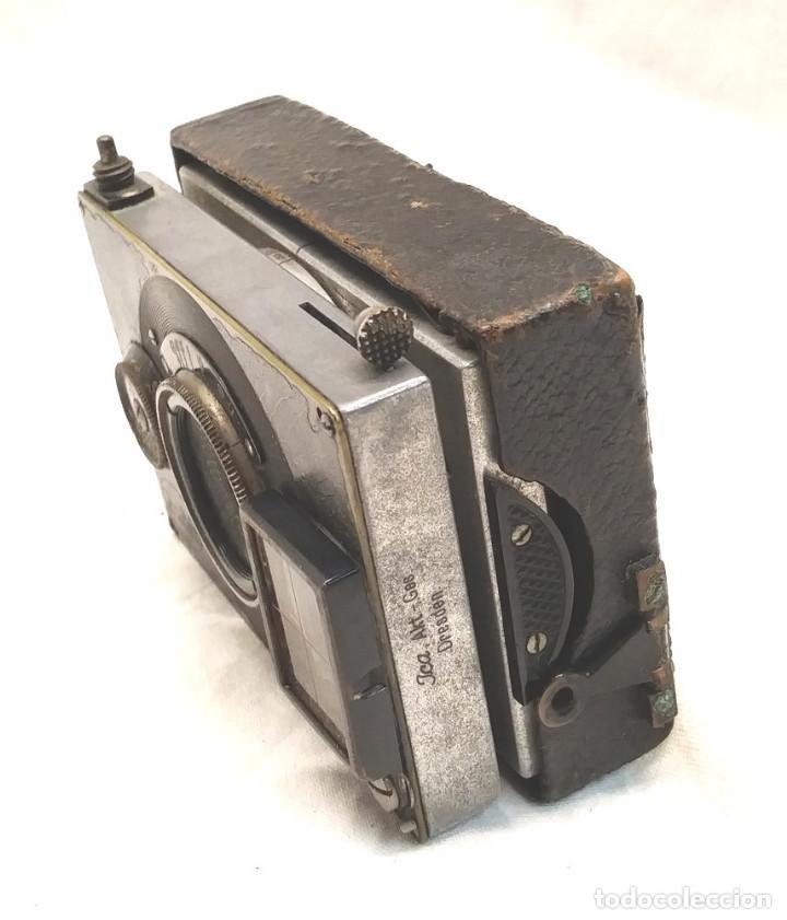 Cámara de fotos: Camara Ica Bebe Dresden de placas Alemania años 10, primer modelo - Foto 8 - 203103425