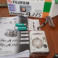Cámara de fotos: CAMARA FUJIFILM FINE PIX A 345. Lote 204808191