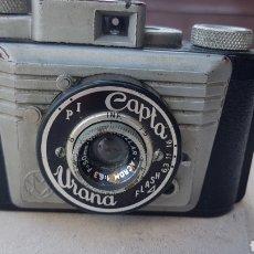 Cámara de fotos: ANTIGUA CAMARA FOTOGRAFICA ESPAÑOLA CAPTA URANA. Lote 205186913