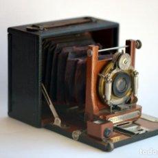 Cámara de fotos: ANTIGUA CÁMARA FOTOGRÁFICA DE FUELLE, CYCLE WIZARD SR. FINALES SIGLO XIX. Lote 205525090