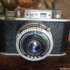 Cámara de fotos: ANTIGUA CAMARA FOTOGRAFICA OREC ORENAC DE SEM LENTE ANGENIEUX. Lote 206198525