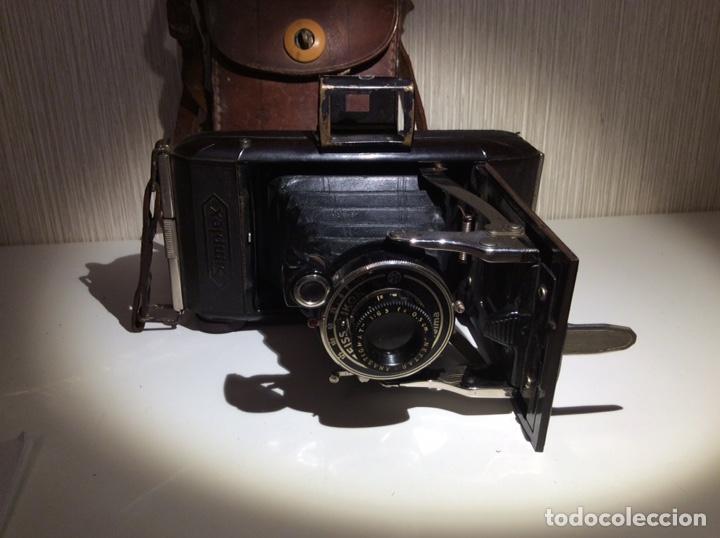 Cámara de fotos: CÁMARA ZEISS IKON SIMPLEX TELMA AÑOS 20/30 CON FUNDA ORIGINAL BUEN ESTADO - Foto 7 - 206285500