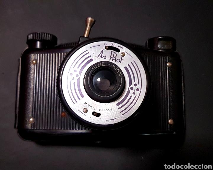 Cámara de fotos: Antigua camara fotografica As Phot As de trefle de baquelita hecha en francia - Foto 3 - 206380211