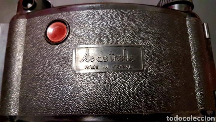 Cámara de fotos: Antigua camara fotografica As Phot As de trefle de baquelita hecha en francia - Foto 10 - 206380211