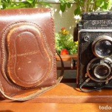 Cámara de fotos: ROLLEIFLEX 6X6 K1 MODELO 612 AÑO 1929 CON ESTUCHE. FUNCIONA. Lote 206836181
