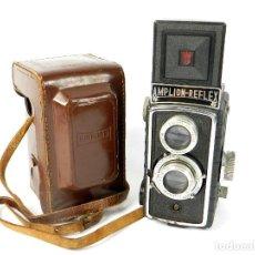 Cámara de fotos: CAMARA DE FOTOS AMPLION REFLEX TLR AÑO 1950 ANTIQUE CAMERA. Lote 206973932