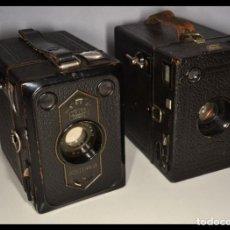 Cámara de fotos: LOTE DE DOS CAMARAS ZEISS IKON BOX TENGOR 54/2 - REF. 1704/11. Lote 207060960