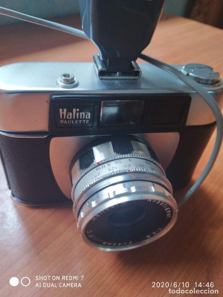 Cámara de fotos: Halina Paulette con flash - Foto 2 - 207723461