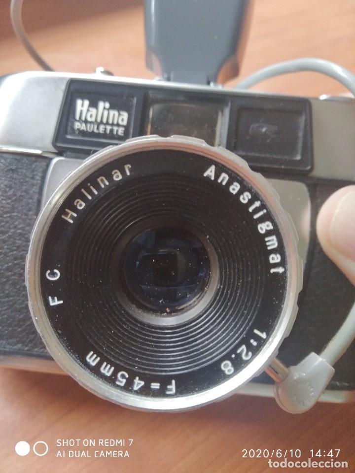 Cámara de fotos: Halina Paulette con flash - Foto 3 - 207723461