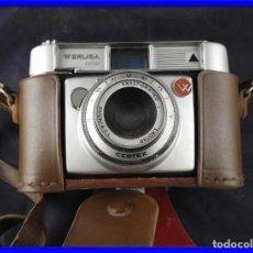Cámara de fotos: CAMARA DE FOTOS ANTIGUA WERLISA COLOR CON SU FUNDA ORIGINAL. Lote 208757226