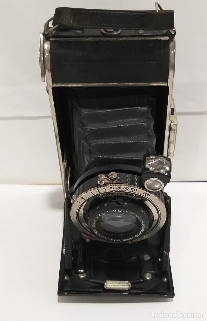 CÁMARA DE FOTOS DE FUELLE VOIGTLANDER (Cámaras Fotográficas - Antiguas (hasta 1950))