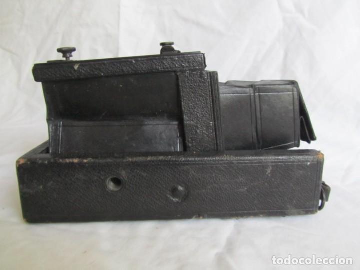 Cámara de fotos: Cuerpo de cámara de placas Mentor Folsing Reflex, principios siglo XX, sin objetivo - Foto 3 - 209354337