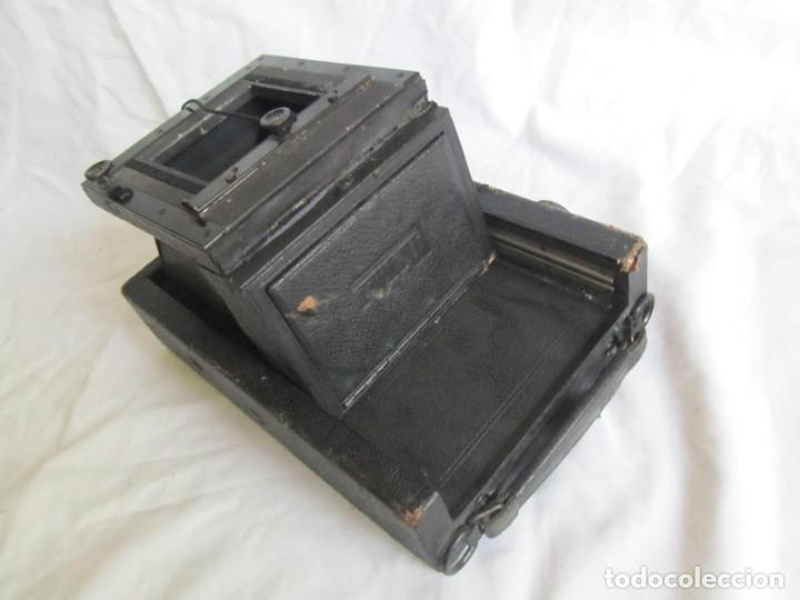 Cámara de fotos: Cuerpo de cámara de placas Mentor Folsing Reflex, principios siglo XX, sin objetivo - Foto 10 - 209354337
