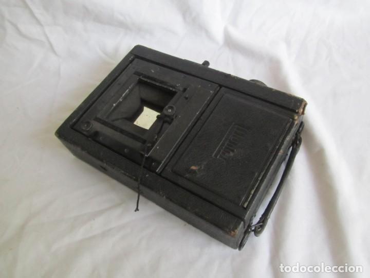 Cámara de fotos: Cuerpo de cámara de placas Mentor Folsing Reflex, principios siglo XX, sin objetivo - Foto 11 - 209354337