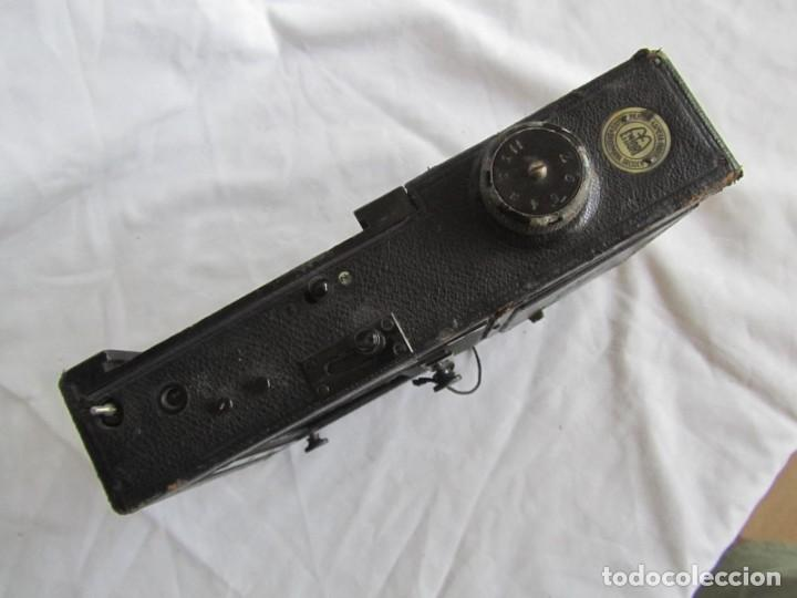 Cámara de fotos: Cuerpo de cámara de placas Mentor Folsing Reflex, principios siglo XX, sin objetivo - Foto 13 - 209354337