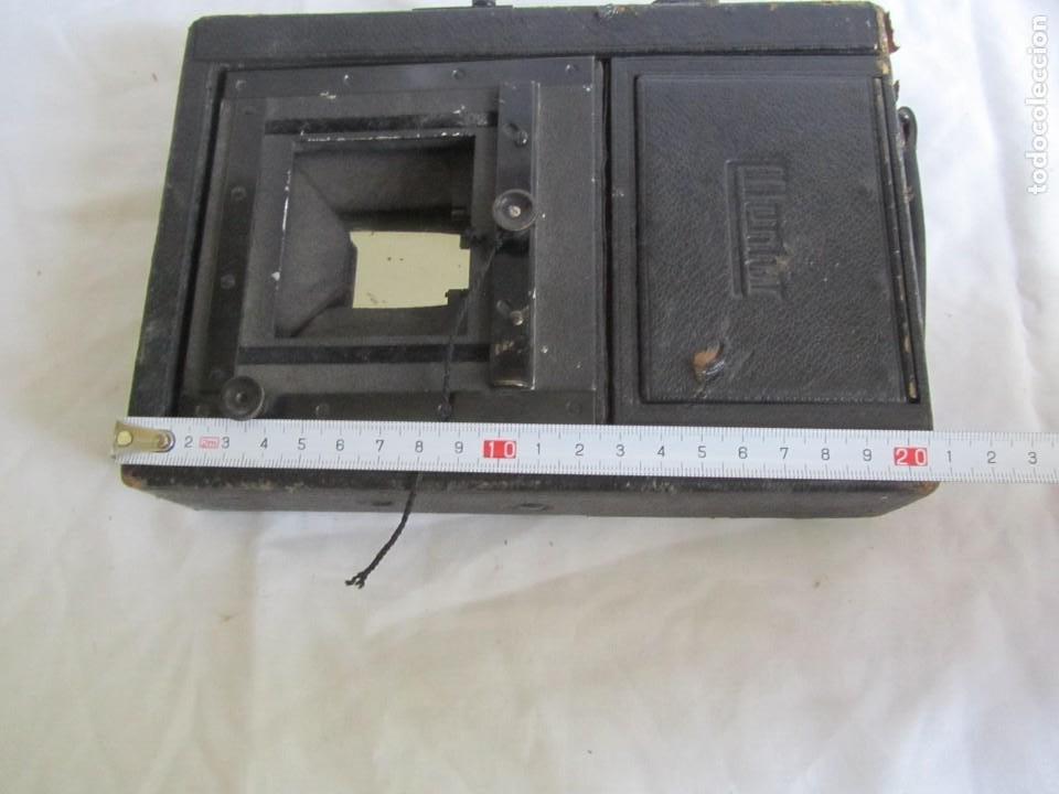 Cámara de fotos: Cuerpo de cámara de placas Mentor Folsing Reflex, principios siglo XX, sin objetivo - Foto 14 - 209354337