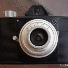 Cámara de fotos: AGFA CLICK.6X6 CAMERA EN ROLLO DE 120.. Lote 210376540