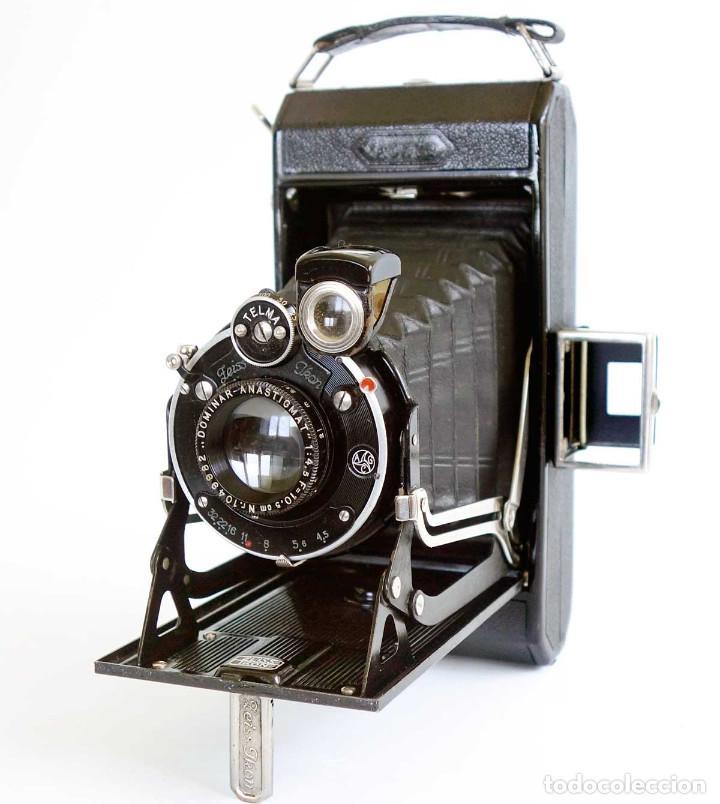Cámara de fotos: CÁMARA FUELLE ZEISS IKON IKONTA ANASTIGMAT C520/2 GERMANY 1931 Y FUNDA CUERO - Foto 2 - 211755900