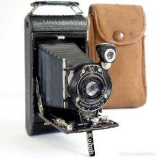 Cámara de fotos: CÁMARA 1921 FUELLE KODEX POCKET Nº1 EASTMAN KODAK. CON LAPIZ. Lote 211839338