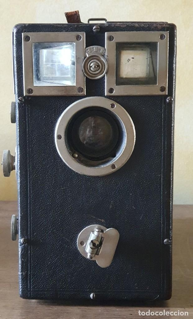 CAMARA DE FOTOGRAFIAR ANTIGUA - GRAN TAMAÑO - 19,5 X 26 X 10,7 CM. (Cámaras Fotográficas - Antiguas (hasta 1950))