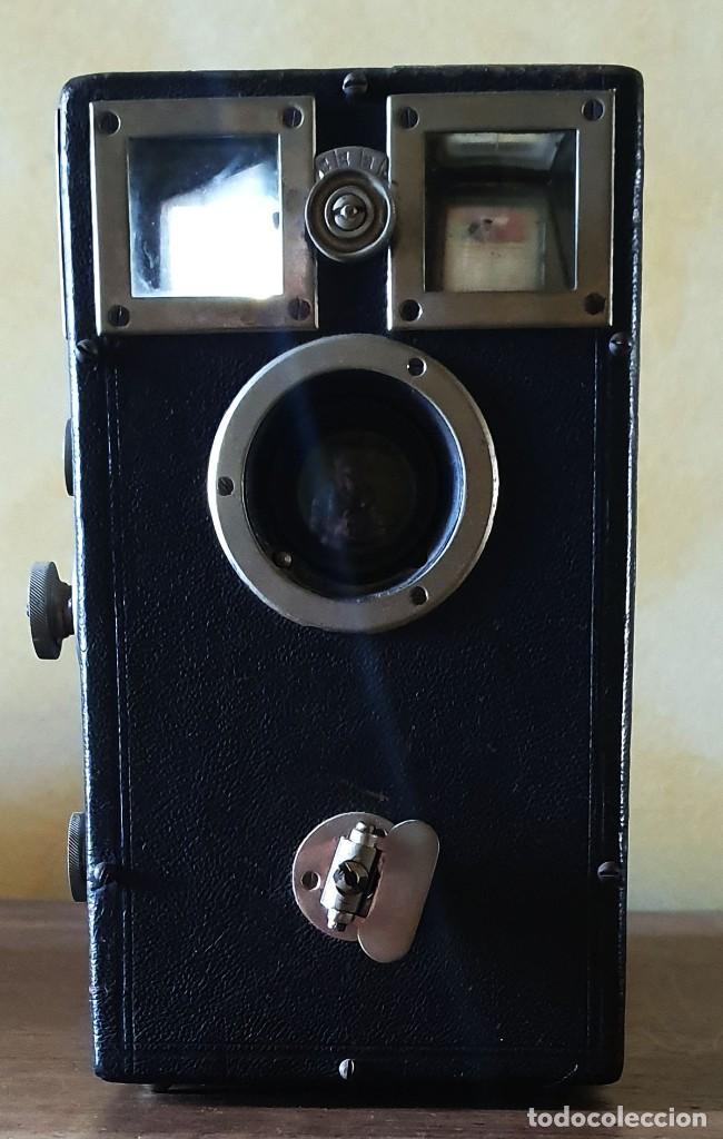 Cámara de fotos: CAMARA DE FOTOGRAFIAR ANTIGUA - GRAN TAMAÑO - 19,5 X 26 X 10,7 CM. - Foto 10 - 212286246