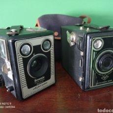 Fotocamere: CAMARAS BROWNIE MODEL D Y AGFA SINCHRO BOX. Lote 212507410