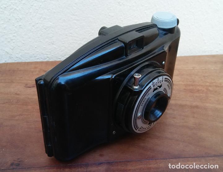 Cámara de fotos: ANTIGUA CÁMARA DE FOTOS PHOTAX BOYER, BAQUELITA. - Foto 3 - 233677405