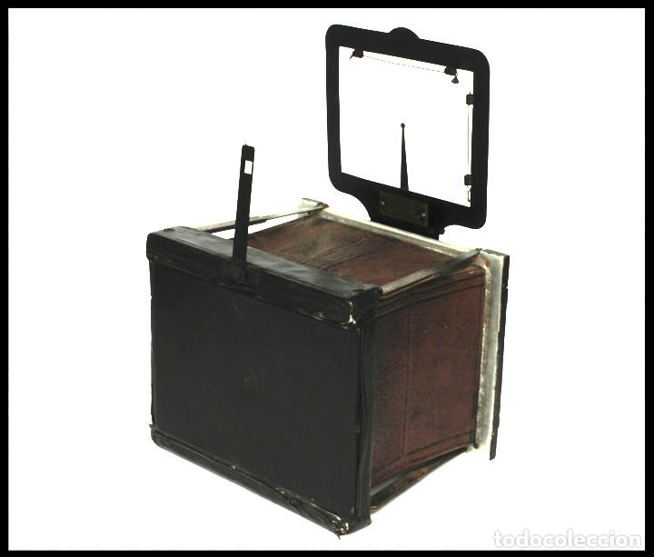 Cámara de fotos: BELLIENI EXTRA PLATT 9X12CM CON BERTHIOT OLOR 135MM F/6 . FUELLE ROJO - Foto 15 - 212615106
