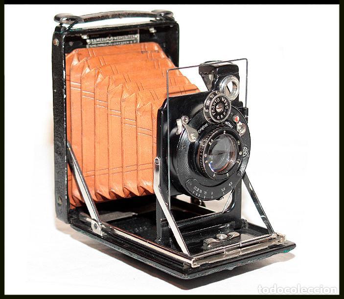KW -KAMERAWERKSTATTEN- PATENT ETUI LUXUS 6.5X9 (Cámaras Fotográficas - Antiguas (hasta 1950))