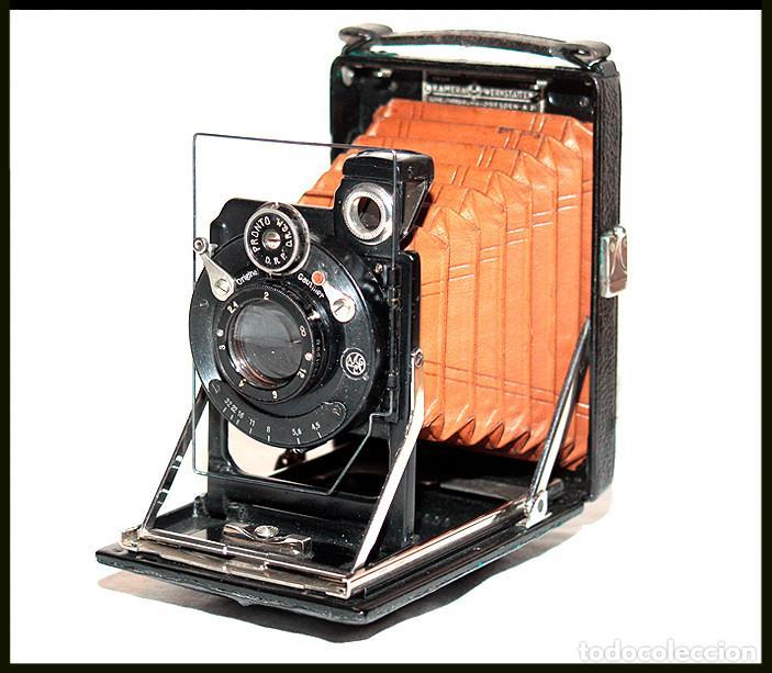Cámara de fotos: KW -KameraWerkstatten- Patent Etui Luxus 6.5x9 - Foto 2 - 212729288