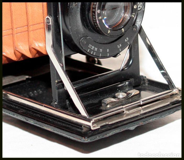 Cámara de fotos: KW -KameraWerkstatten- Patent Etui Luxus 6.5x9 - Foto 4 - 212729288