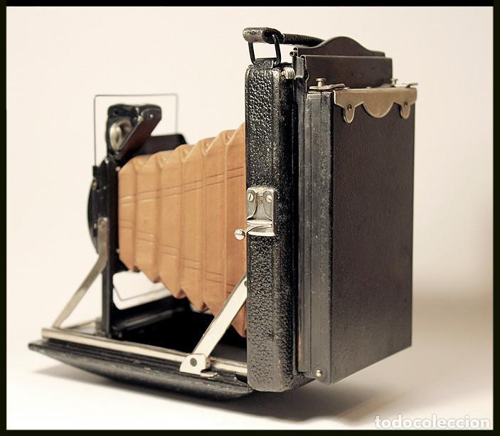 Cámara de fotos: KW -KameraWerkstatten- Patent Etui Luxus 6.5x9 - Foto 5 - 212729288