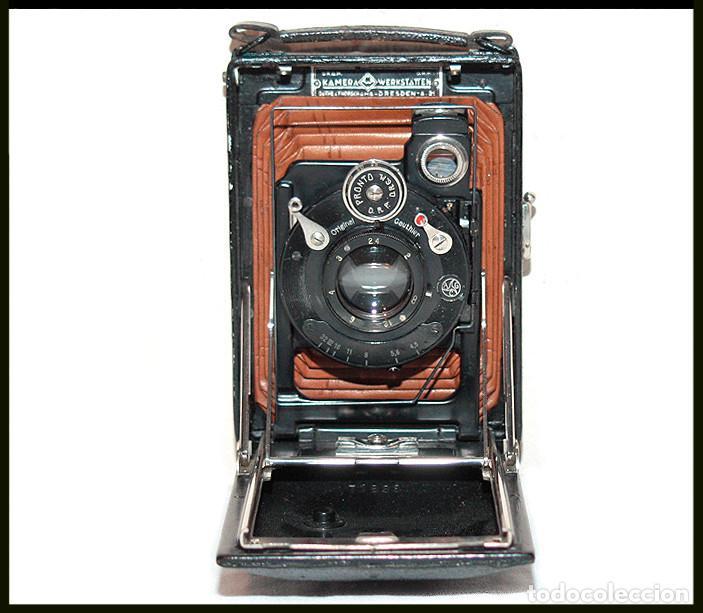 Cámara de fotos: KW -KameraWerkstatten- Patent Etui Luxus 6.5x9 - Foto 6 - 212729288