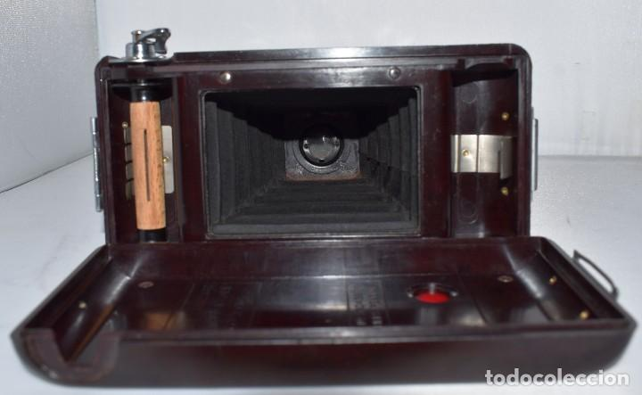 Cámara de fotos: ESPECTACULAR..1930..SOHO FOLDING MODEL B..BAQUELITA Y FUELLE GRANATE..MUY BUEN ESTADO..FUNCIONA - Foto 22 - 212793836