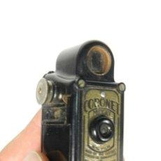 Cámara de fotos: ANTIGUA CAMARA SUBMINIATURA CORONET MIDGET NEGRA AÑO 1934 CAMERA CORONET MIDGET. Lote 213057555