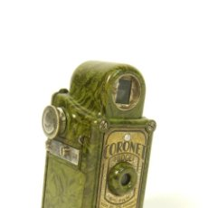 Cámara de fotos: ANTIGUA CAMARA SUBMINIATURA CORONET MIDGET AÑO 1934 VERDE CAMERA CORONET MIDGET. Lote 213058130